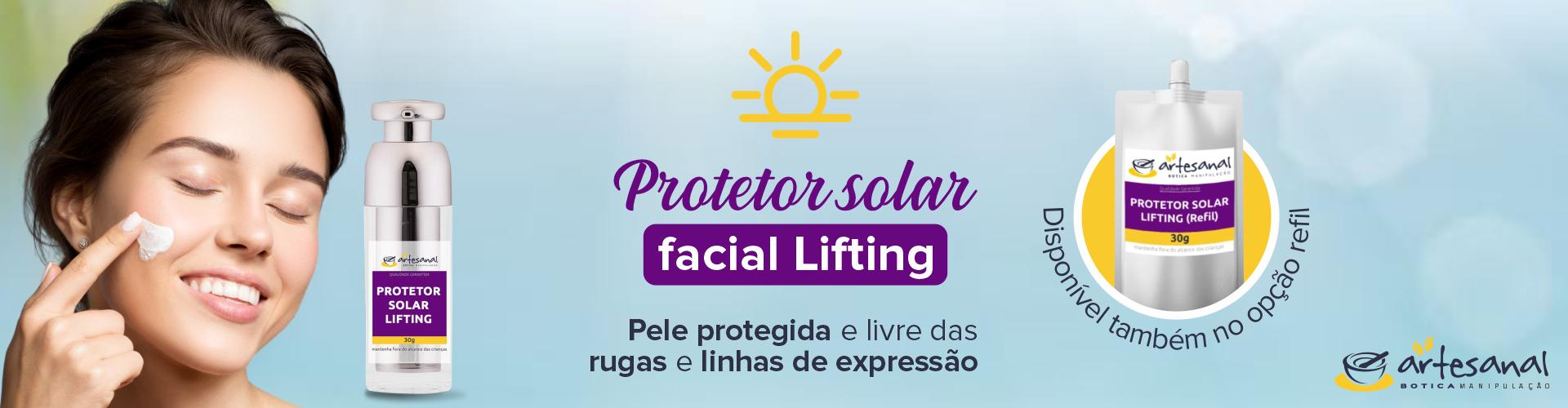 Protetor Solar Lifting
