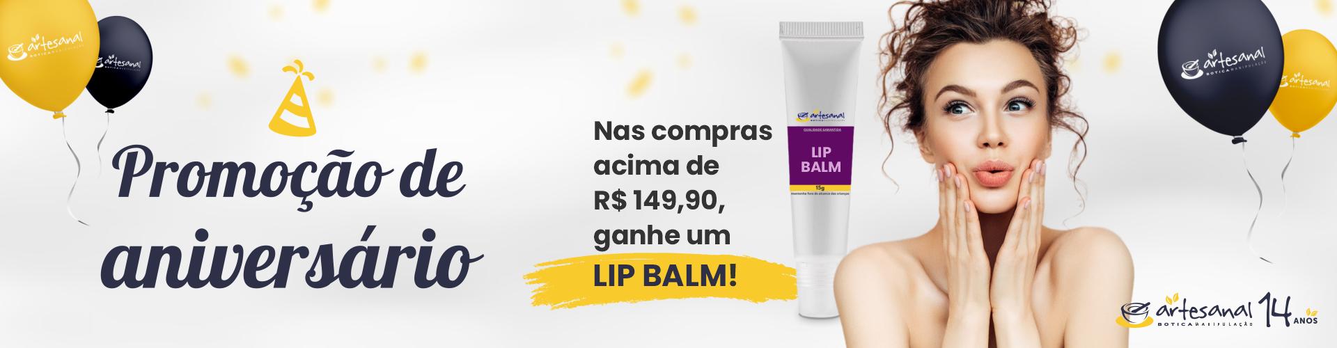 Brinde: Lip Balm