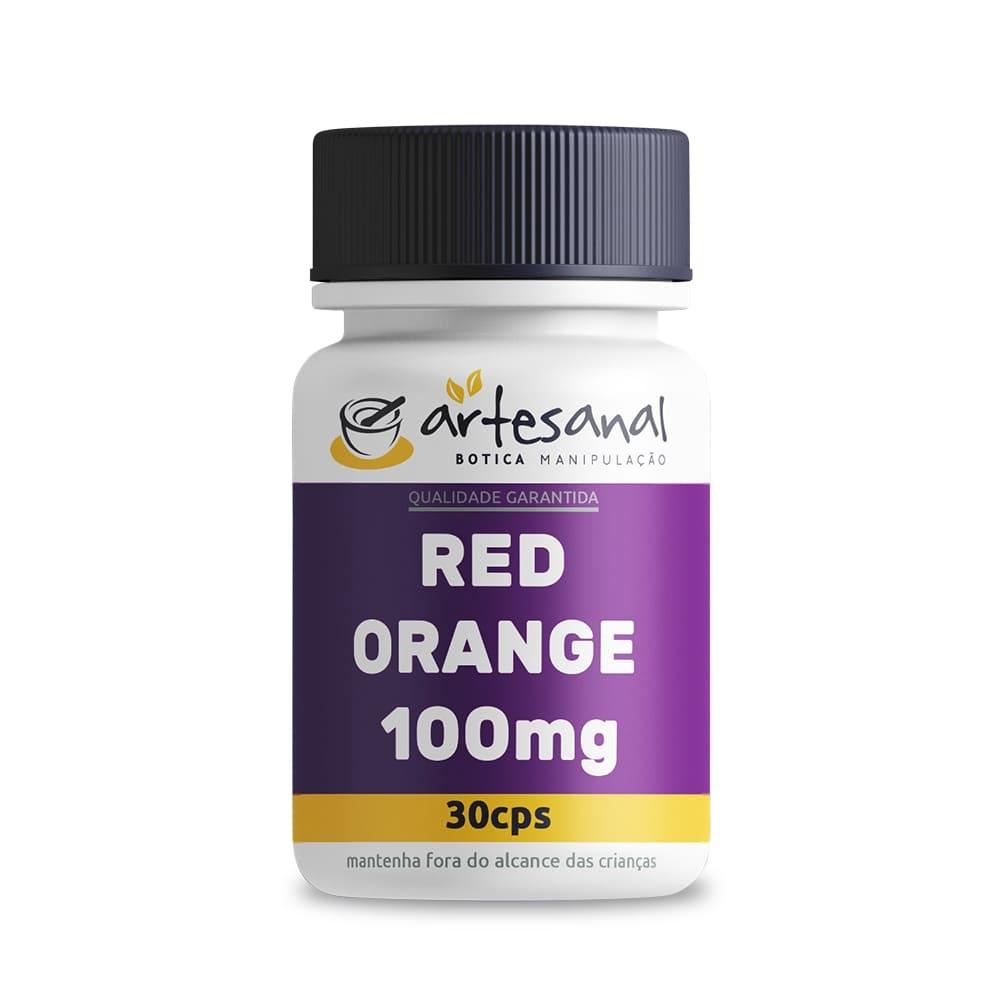 Red Orange - 100mg 30 Cápsulas