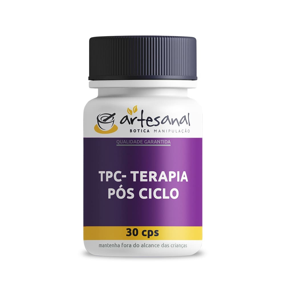 TPC - Terapia Pós Ciclo - 30 Cápsulas