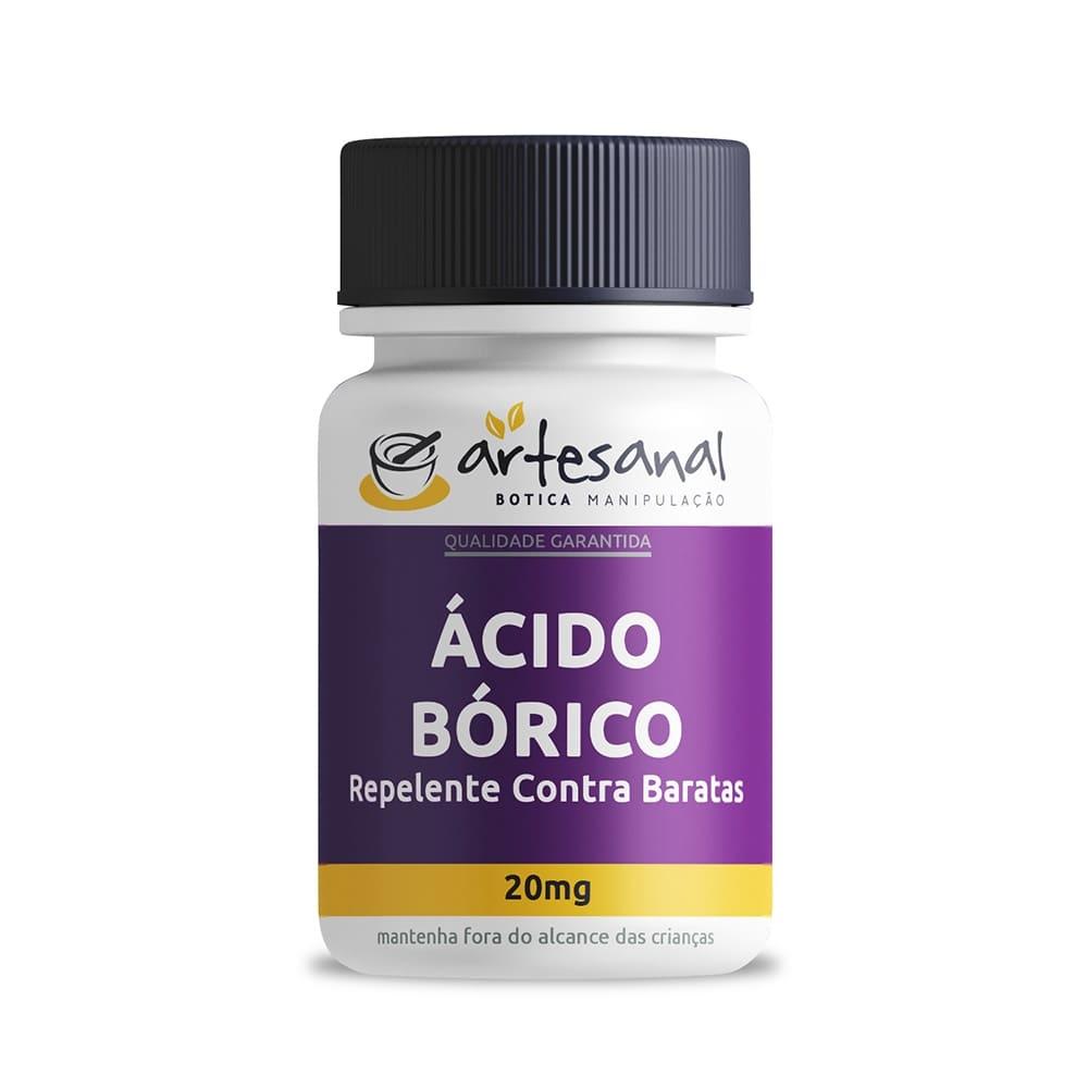 Ácido Bórico - Repelente Contra Baratas 20g