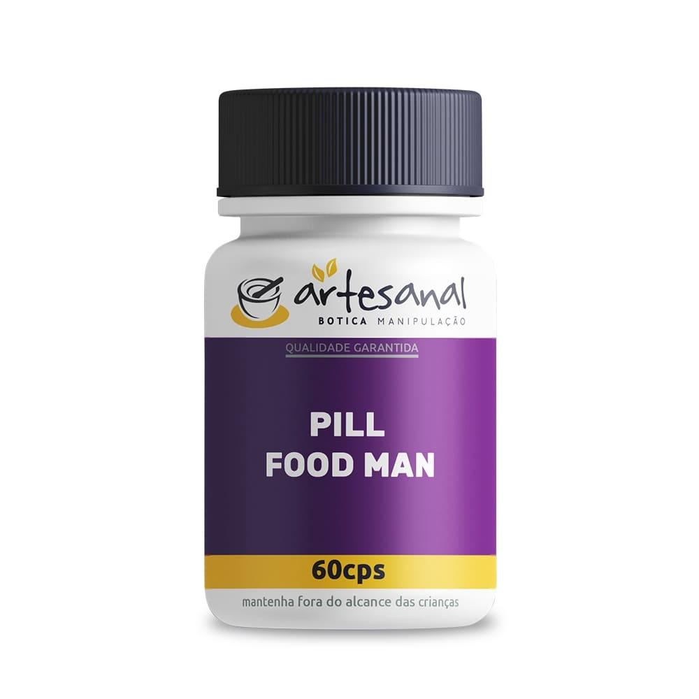 Pill Food Man - 60 Cápsulas