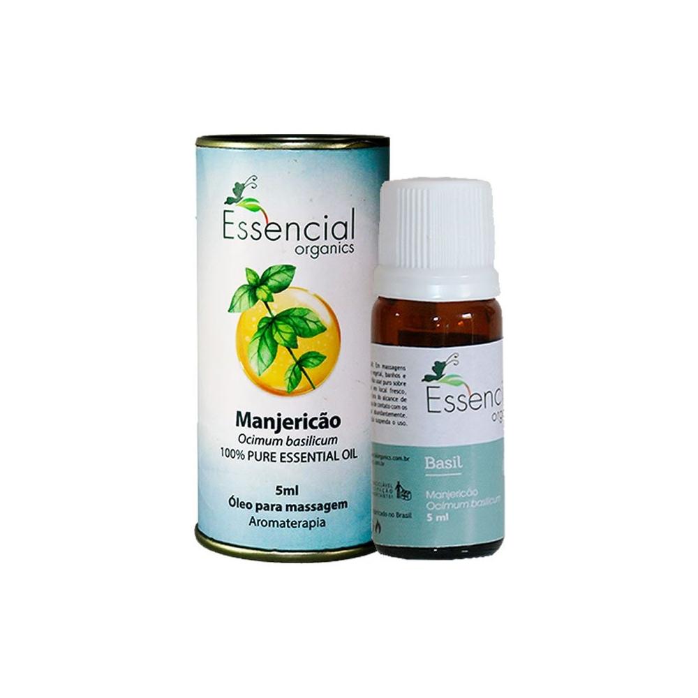 Óleo Essencial de Manjericão 5ml - Essencial Organics