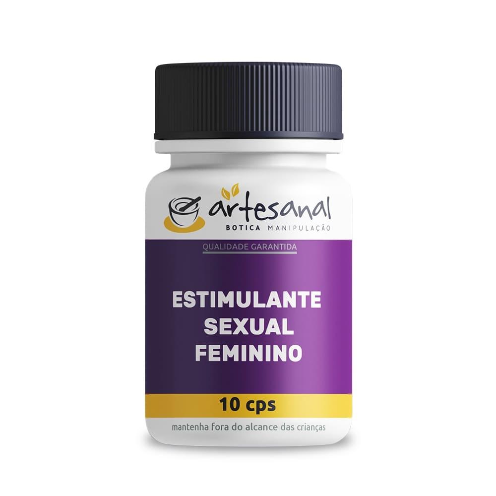 Estimulante Sexual Feminino - 10 Cápsulas