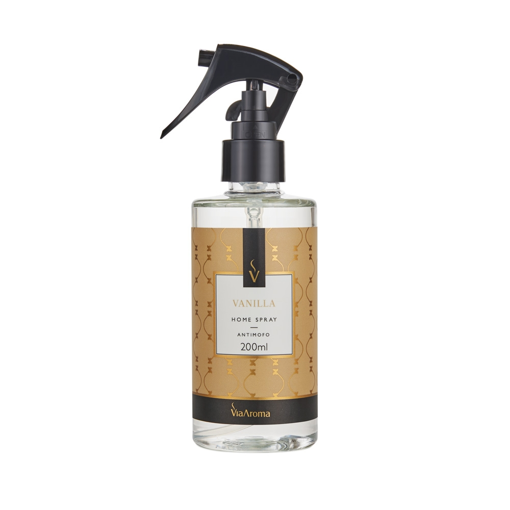 Home Spray Vanilla 200ml - Via Aroma