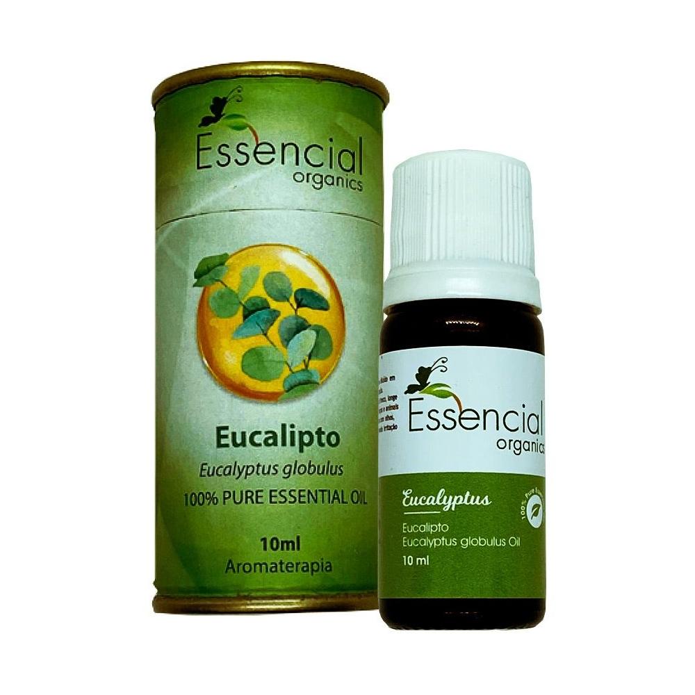Óleo Essencial de Eucalipto Glóbulus - Essencial Organics - 10ml