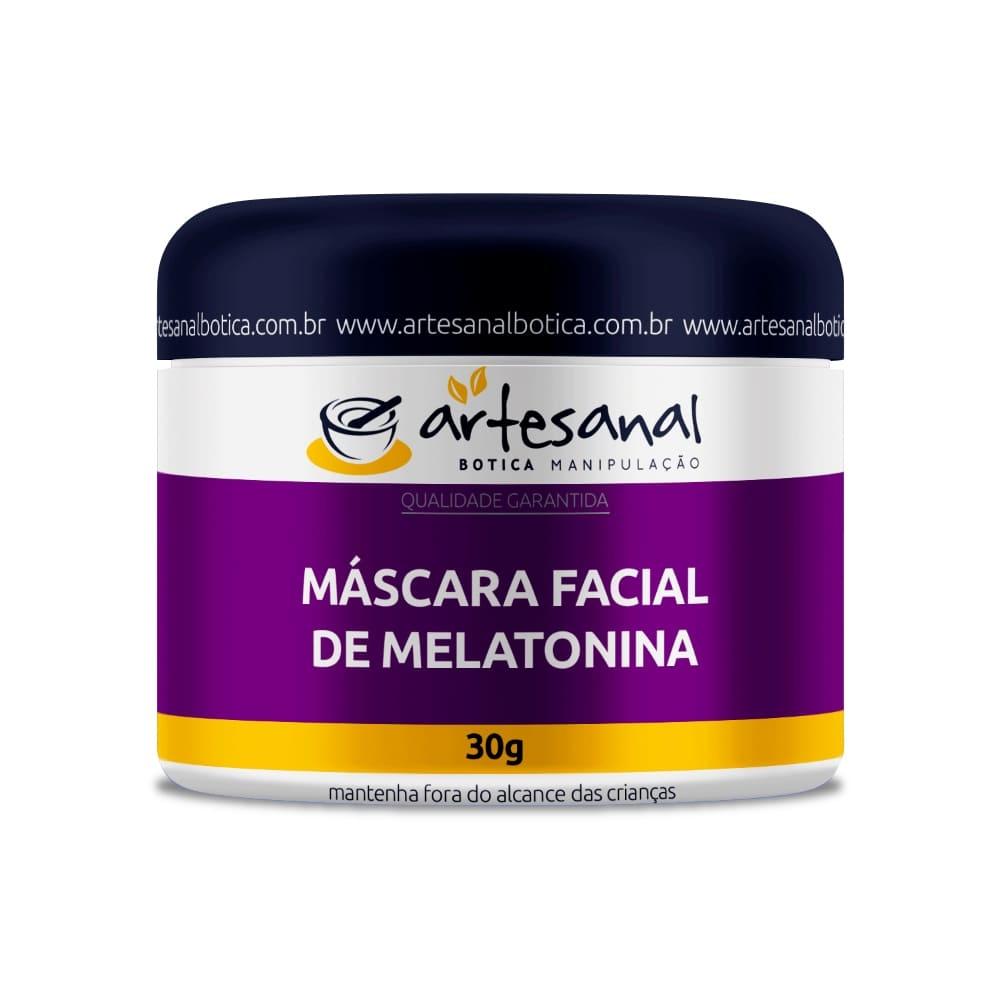Máscara Facial de Melatonina - 30gr