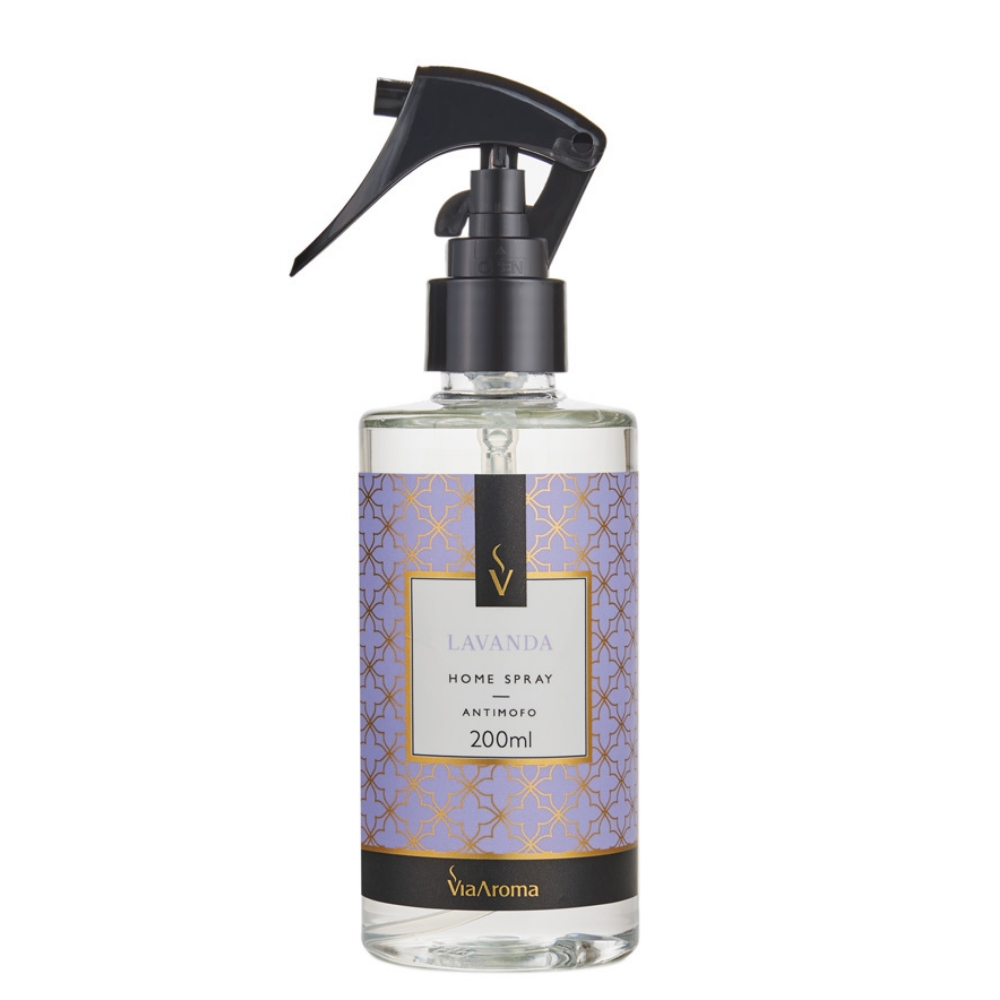 Home Spray Lavanda Francesa 200ml - Via Aroma