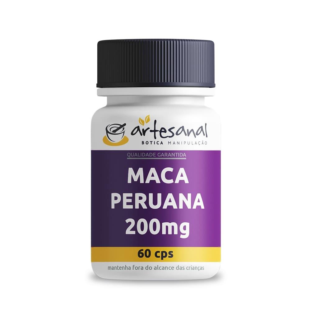 Maca Peruana 200mg - 60 Cápsulas