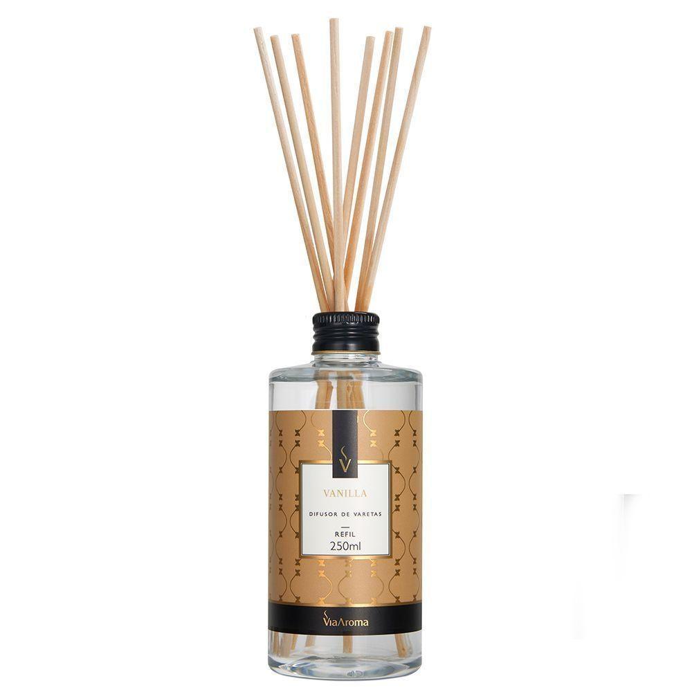 Difusor de Varetas Vanilla 250ml - Via Aroma