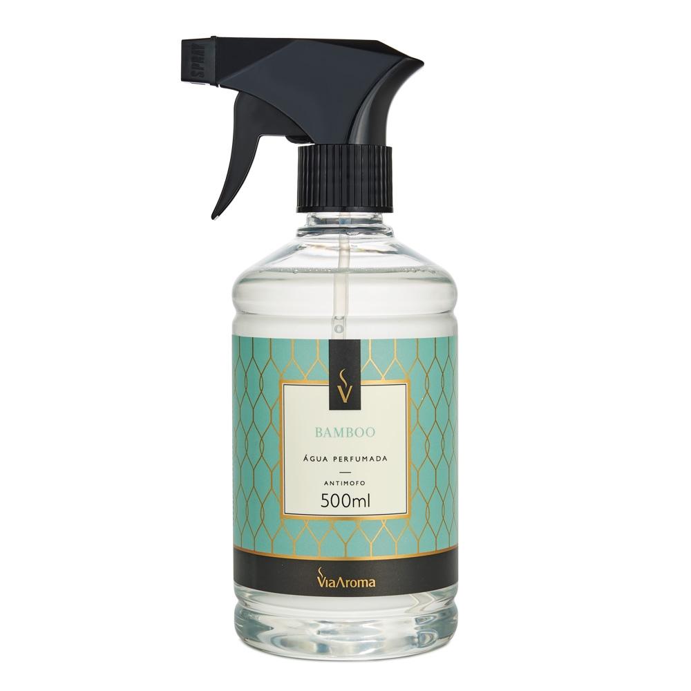 Água Perfumada para Tecidos Bamboo 500ml - Via Aroma