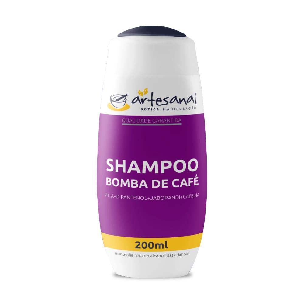 Shampoo Bomba de Café - 200ml