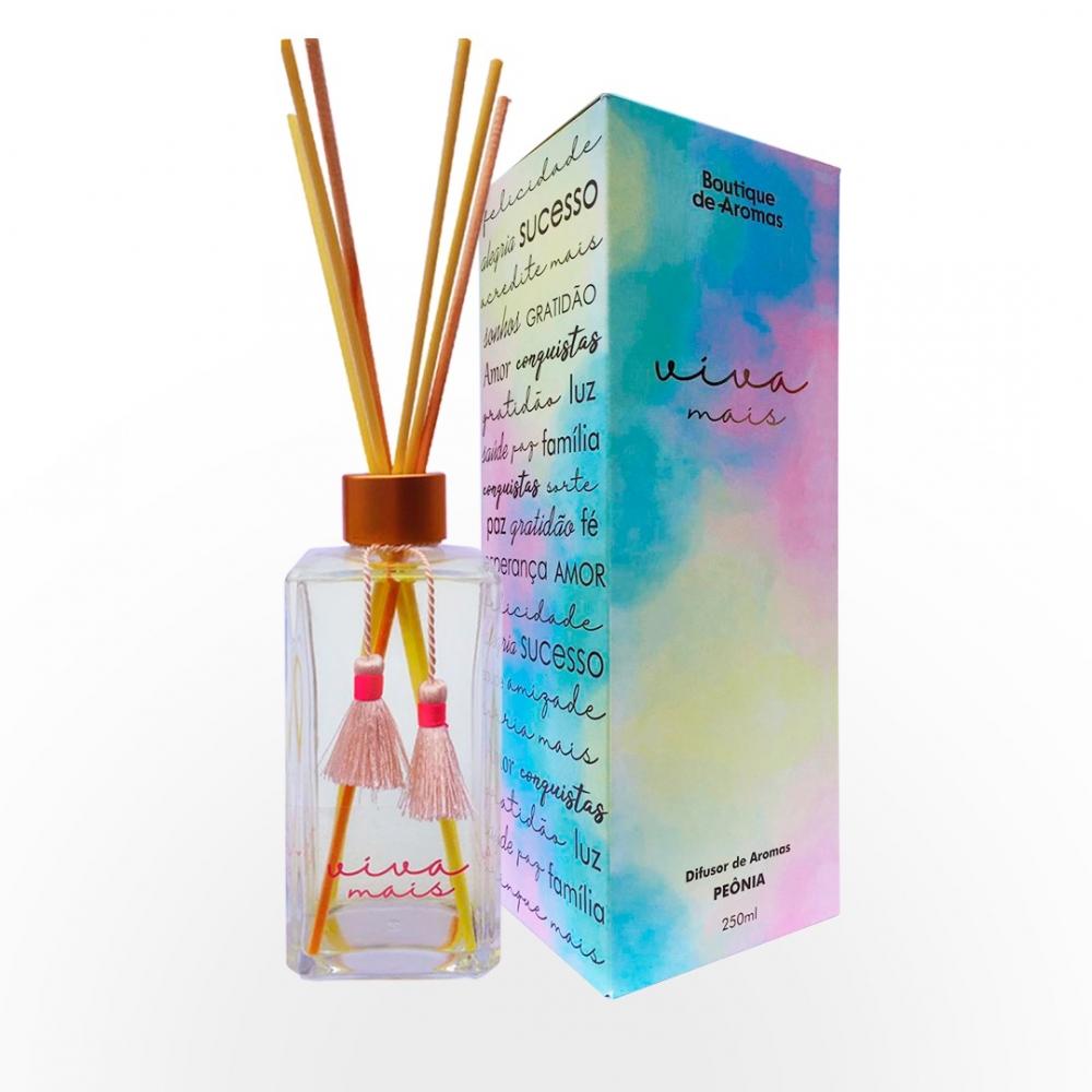 Difusor de Aromas Viva Mais 250ml - Boutique De Aromas