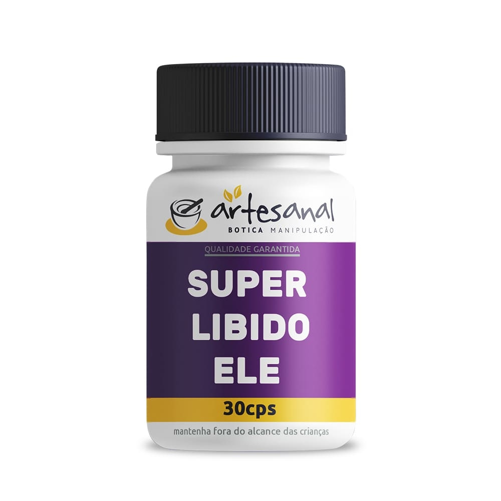 Super Libido Ele - 30 Cápsulas