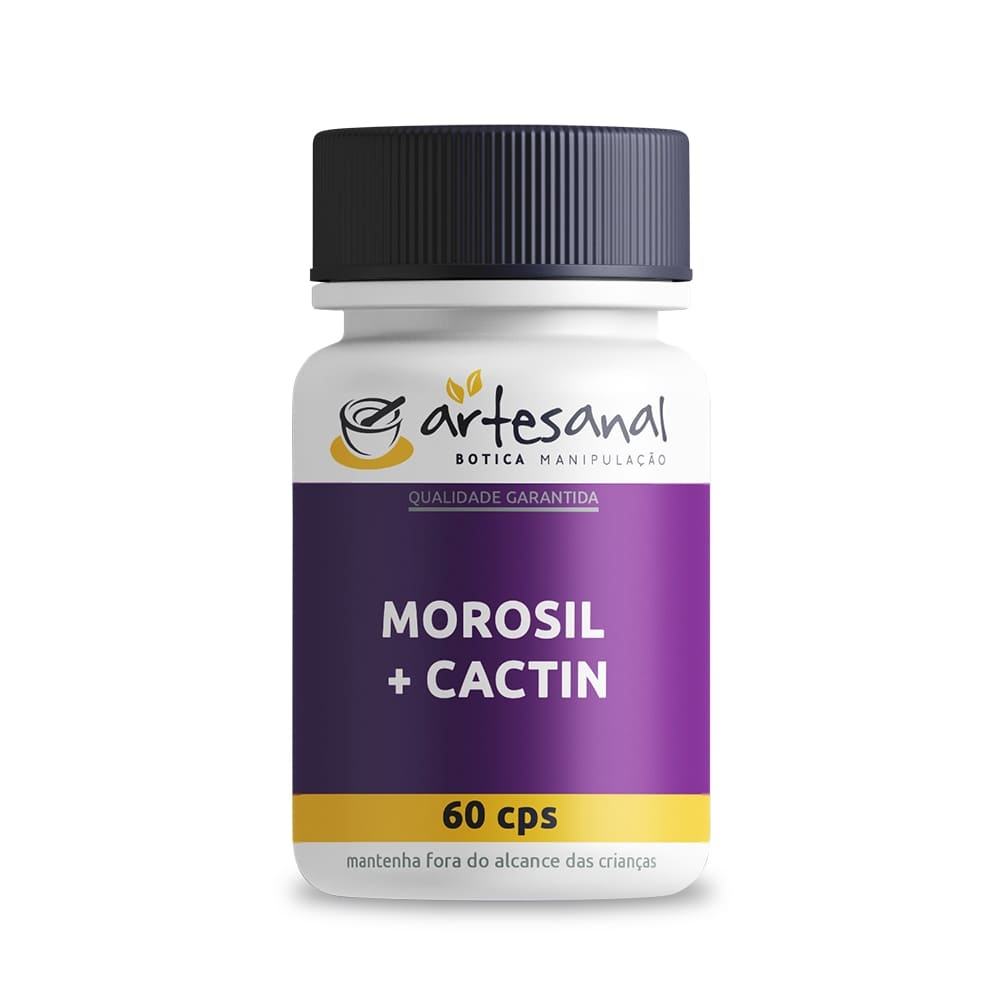 Morosil + Cactin - 60 Cápsulas