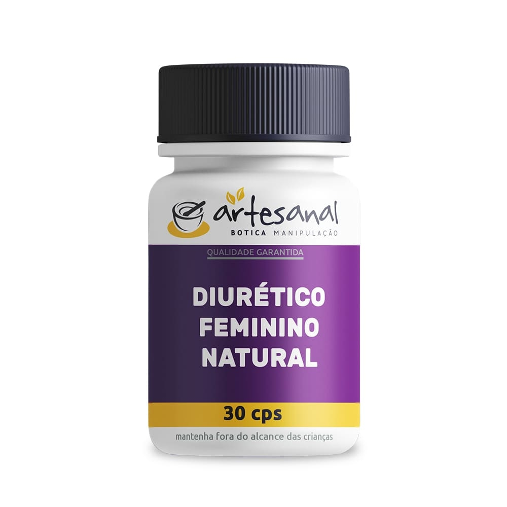Diurético Feminino Natural - 30 Doses