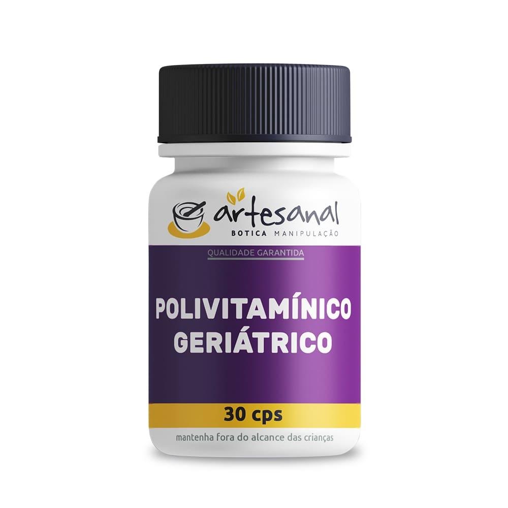 Polivitamínico Geriátrico - 30 Cápsulas