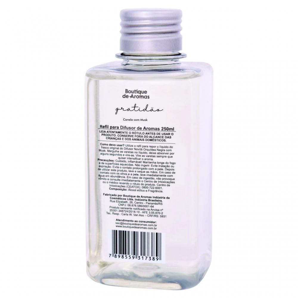 Refil para Difusor de Aromas Gratidão 250ml - Boutique De Aromas