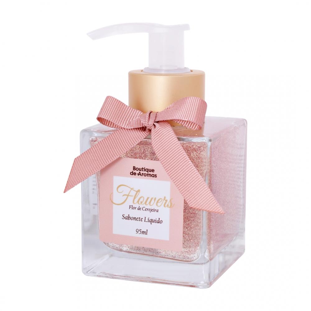 Sabonete Líquido Flowers 95ml – Boutique de Aromas