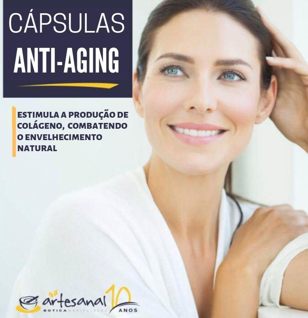 Cápsulas Anti-aging - 30 Cápsulas