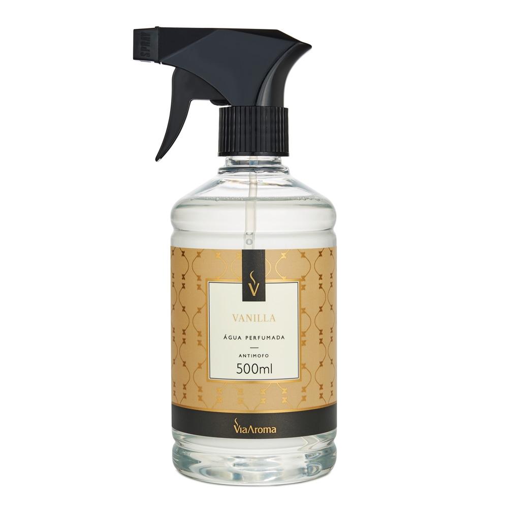 Água Perfumada para Tecidos Vanilla 500ml - Via Aroma